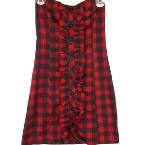 👗Women's Wet Seal Plaid Dress👗